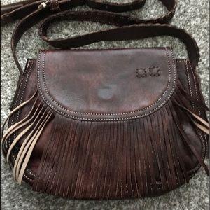 Bed Stu Crossbody Bag W/Fringe